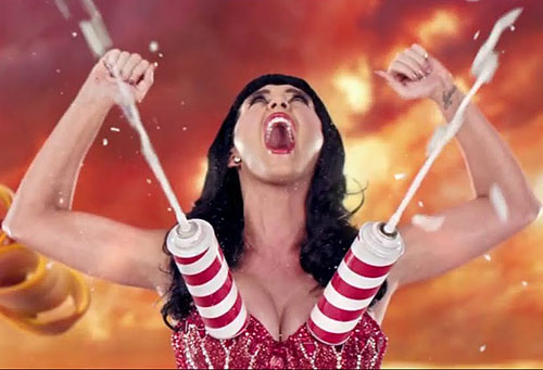 Katy Perry milking